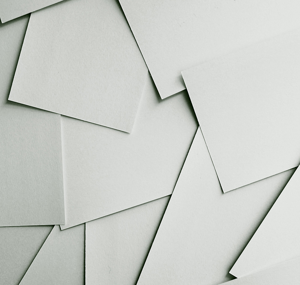 Photo of a stack of paper